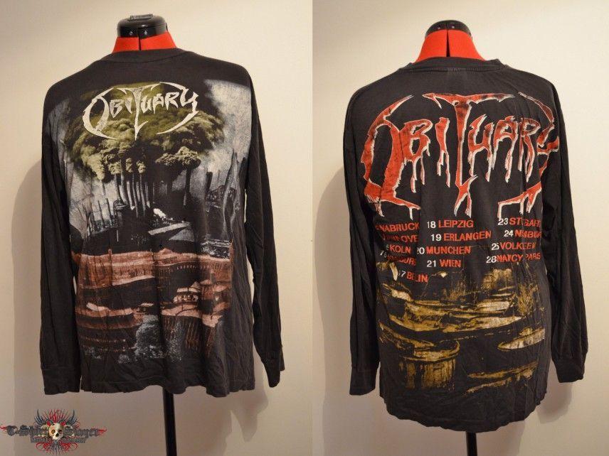 Obituary - World demise (long sleeves '94 tour)