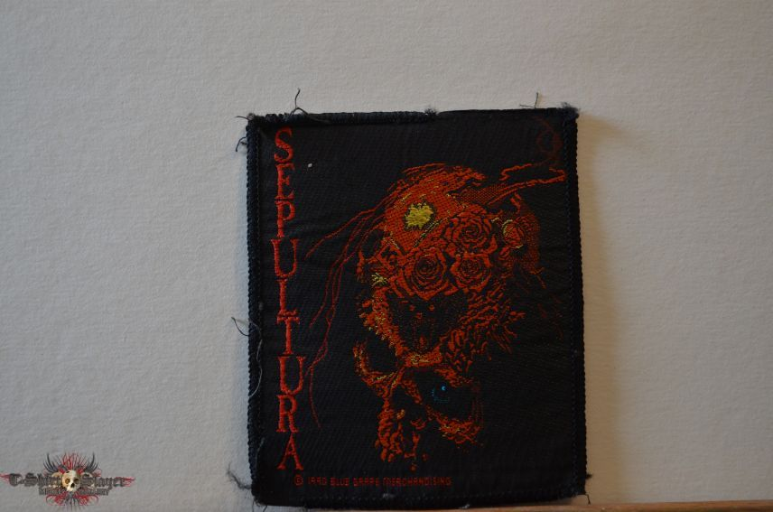 Sepultura - Beneath the remains (patch bis)