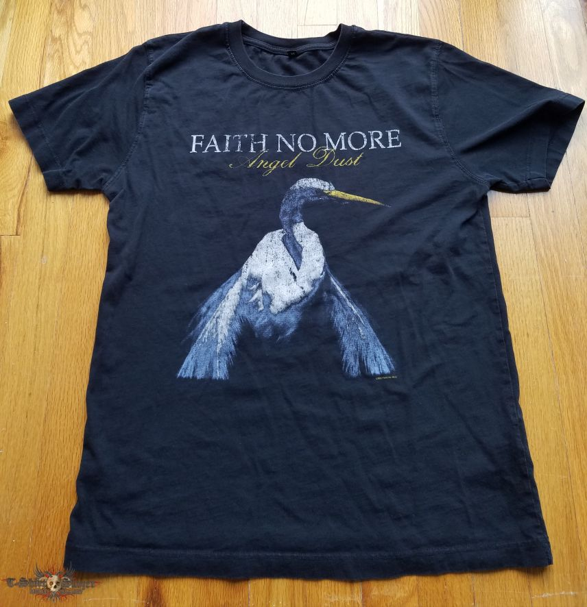 Faith No More Angel Dust distressed Shirt