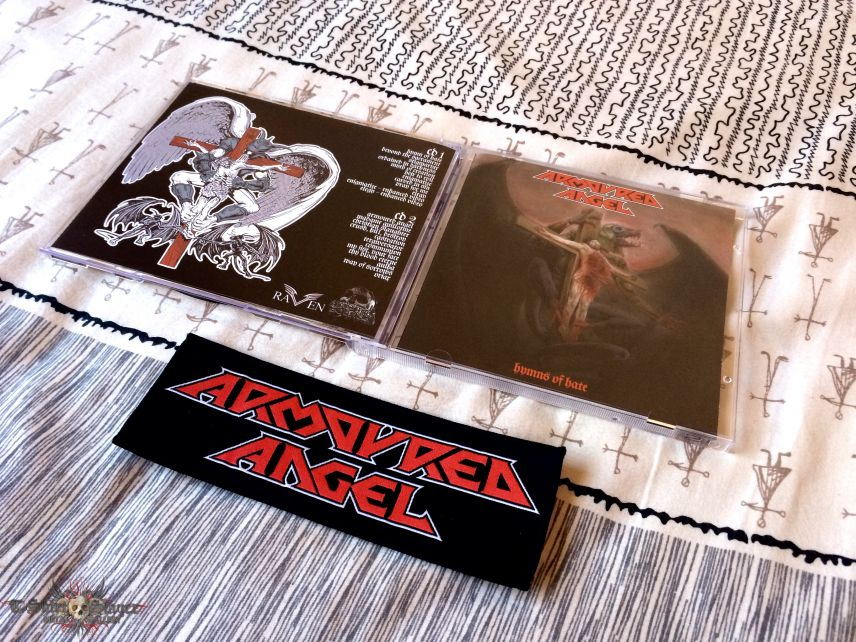 Armoured Angel ‎– Hymns Of Hate