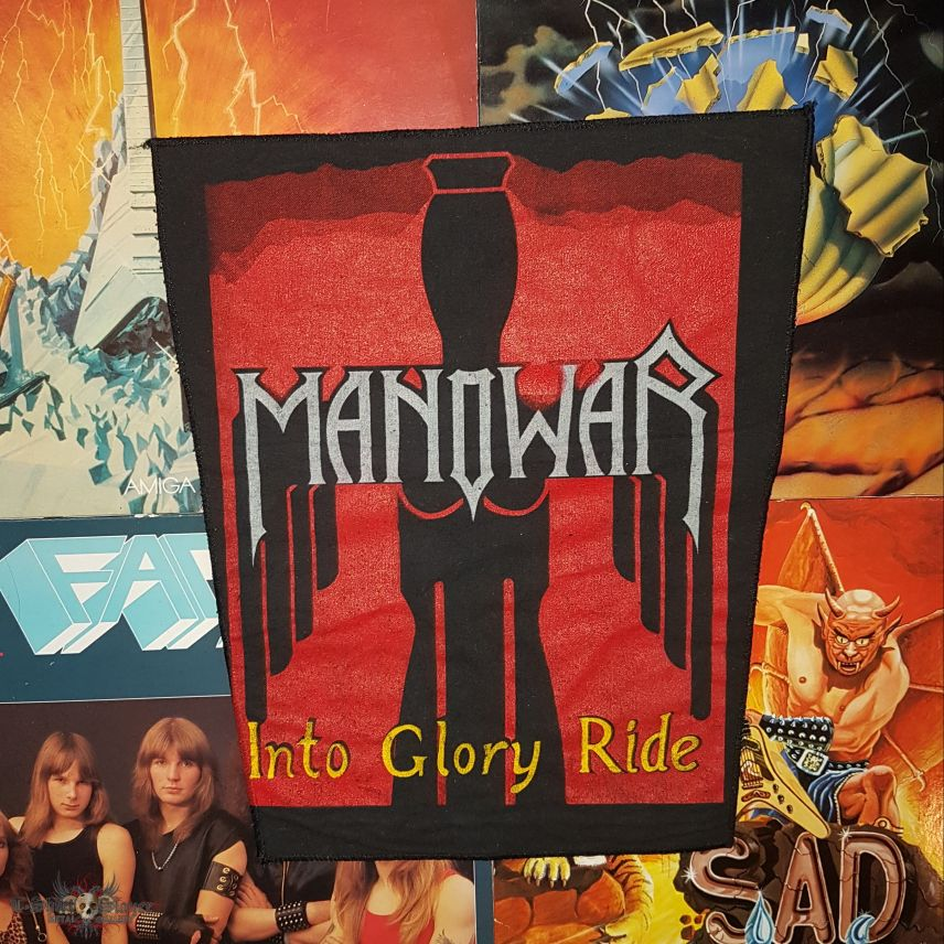 Manowar - Into Glory Ride Backpatch