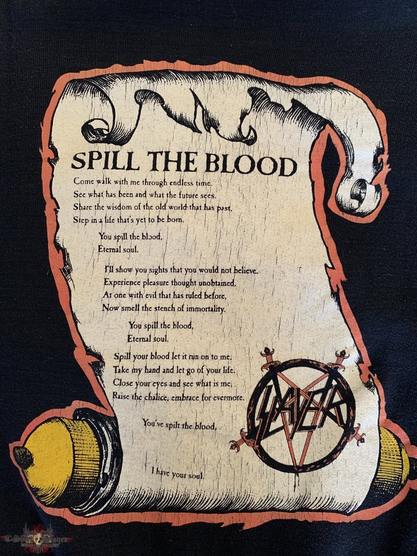 Slayer Spill the Blood Sweater