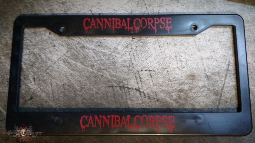 Cannibal Corpse - License Plate Cover