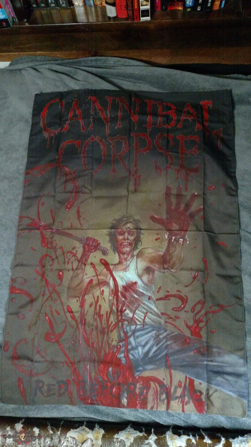 Cannibal Corpse - Red Before Black [Fabric Poster]