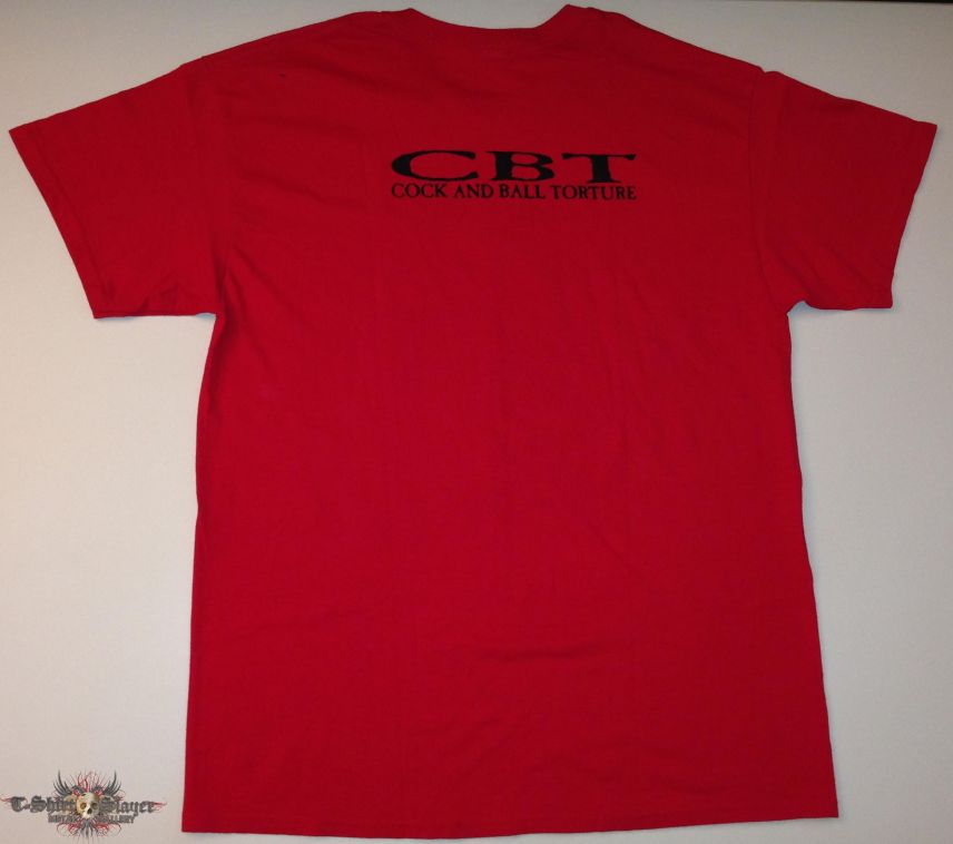 Cock And Ball Torture Shirt (Size Large)