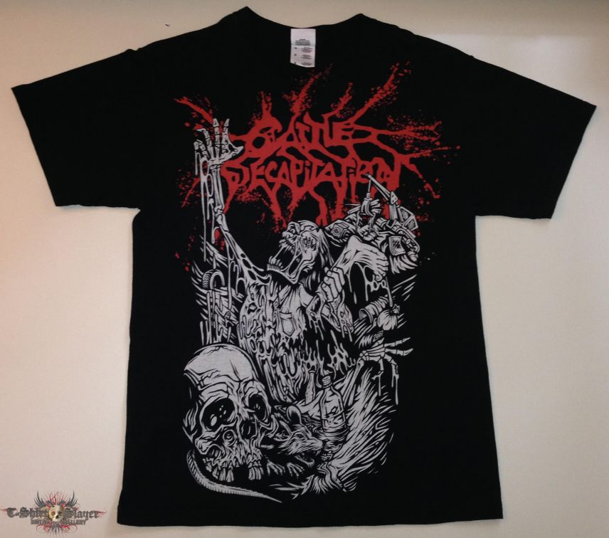 Cattle Decapitation Shirt (Size Medium)