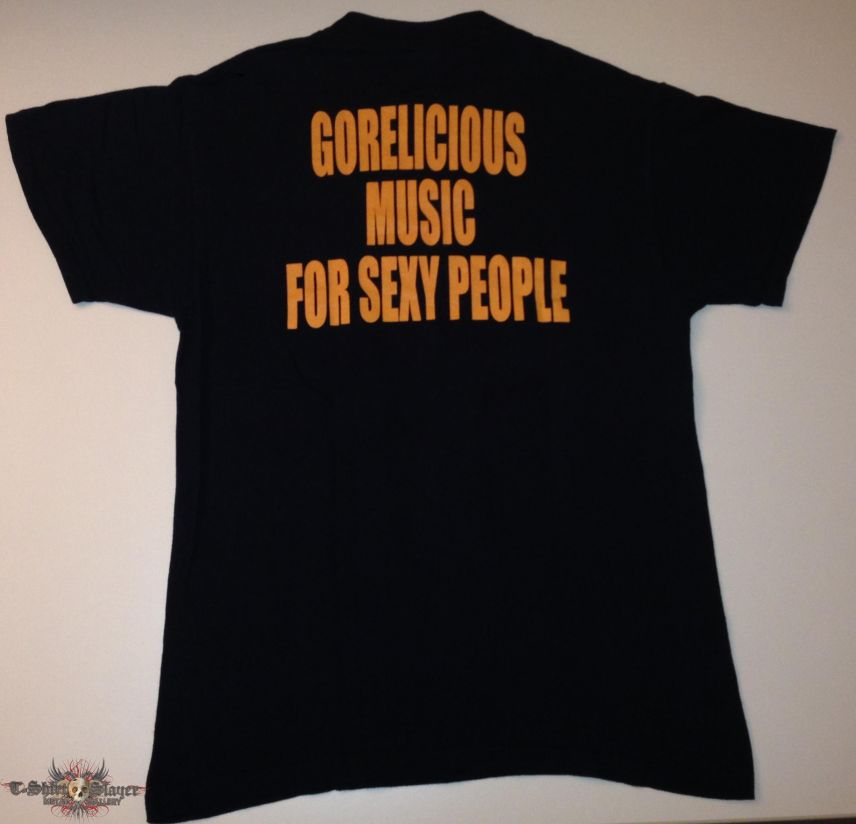 "Mucupurulent ""Gorelicious Music For Sexy People"" Shirt (Size Medium)"