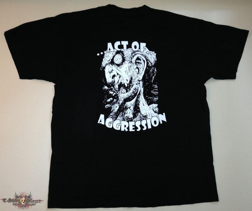 """Cynical Bastard """"Act Of Aggression"""" Shirt (Size Medium)"""