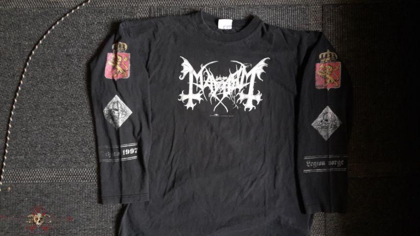 Mayhem - Legion Norge Longsleeve, XL