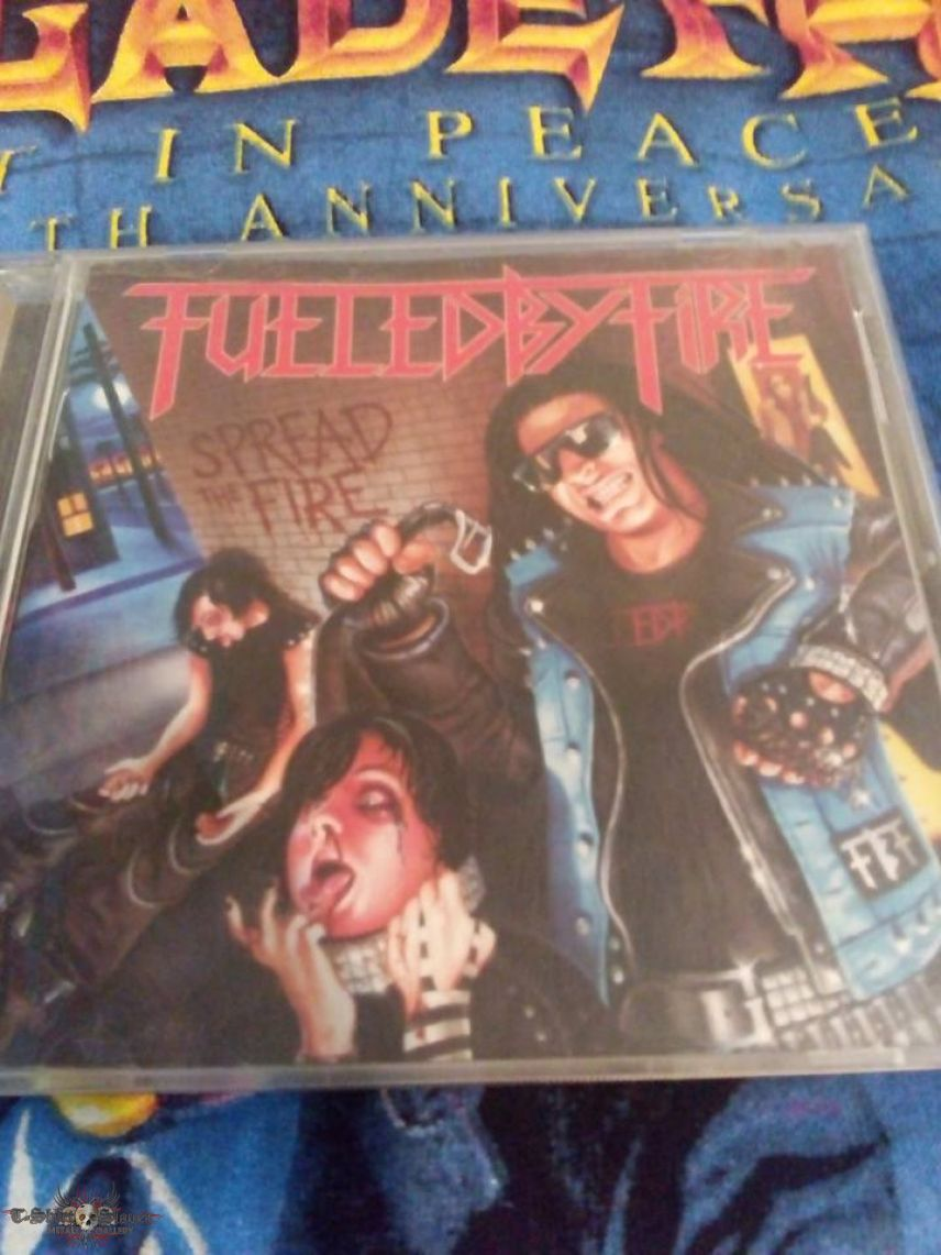 Fueled By FIre - Spread The Fire CD