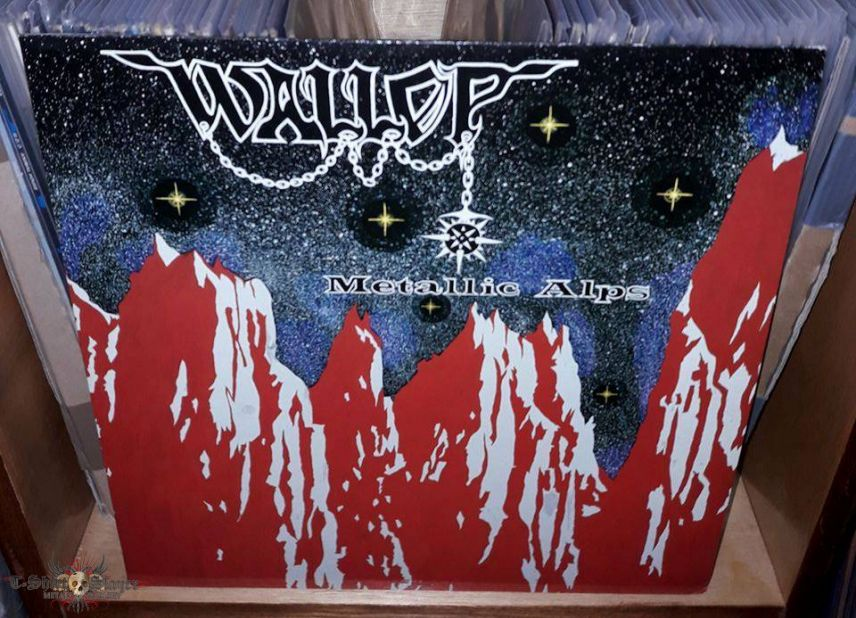 Wallop - Metallic Alps 1985