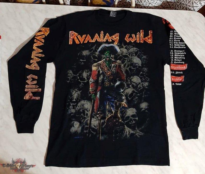 Running Wild - Pile Of Skull Tour LS 1993