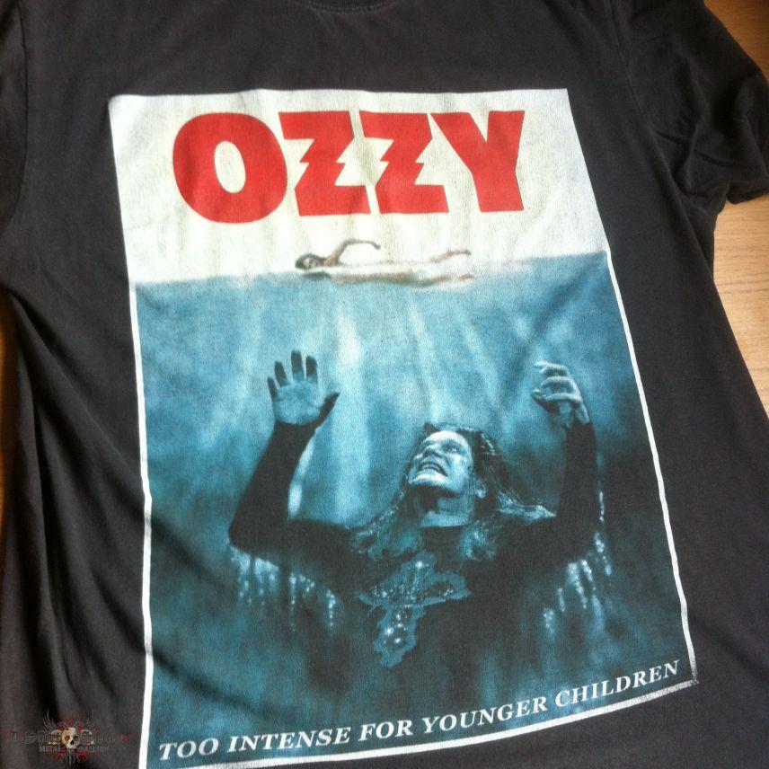 Ozzy Osbourne - JAWS Shirt - 1995