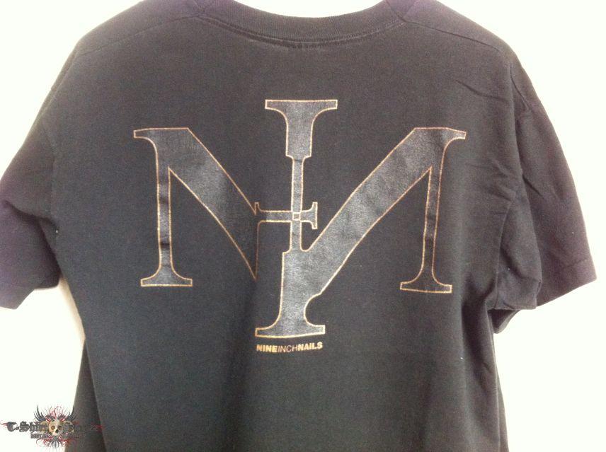 NINE INCH NAILS - SIN - Shirt 1991   TShirtSlayer TShirt and ...