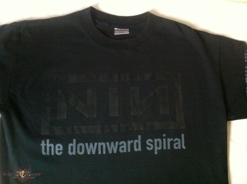 NINE INCH NAILS - The Downward Spiral - Longsleeve | TShirtSlayer ...