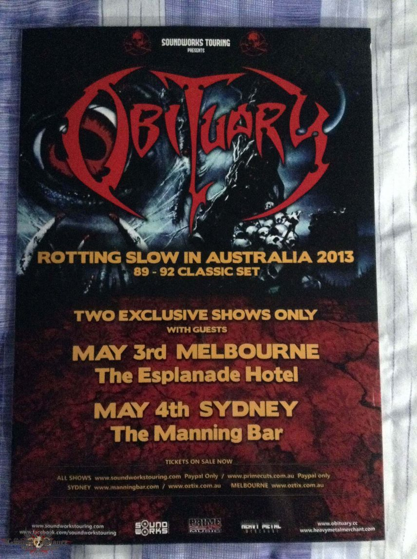 Some Aussie Tour Posters