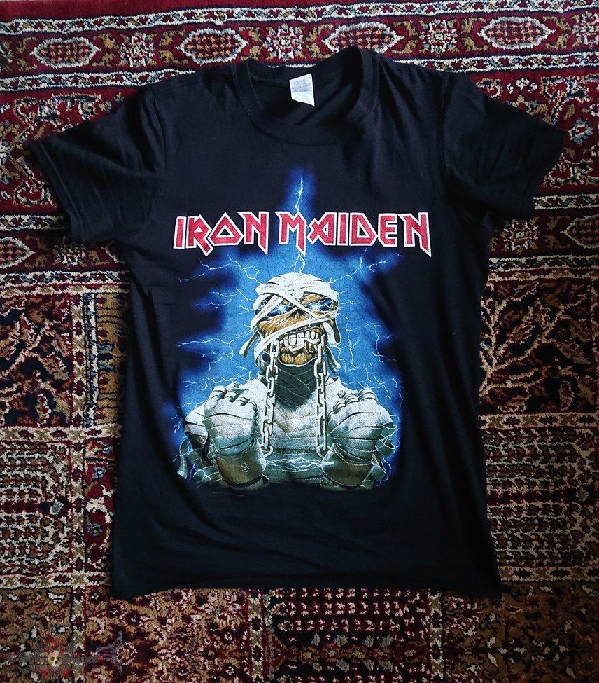 Iron Maiden -  Powerslave / World Slavery Tour (t-shirt version)