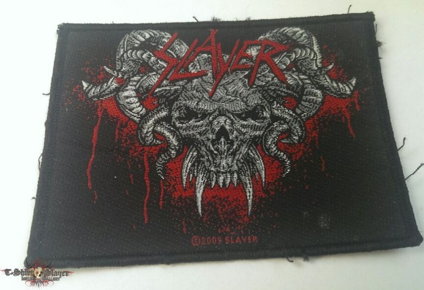 Slayer - Horned Skull Patch