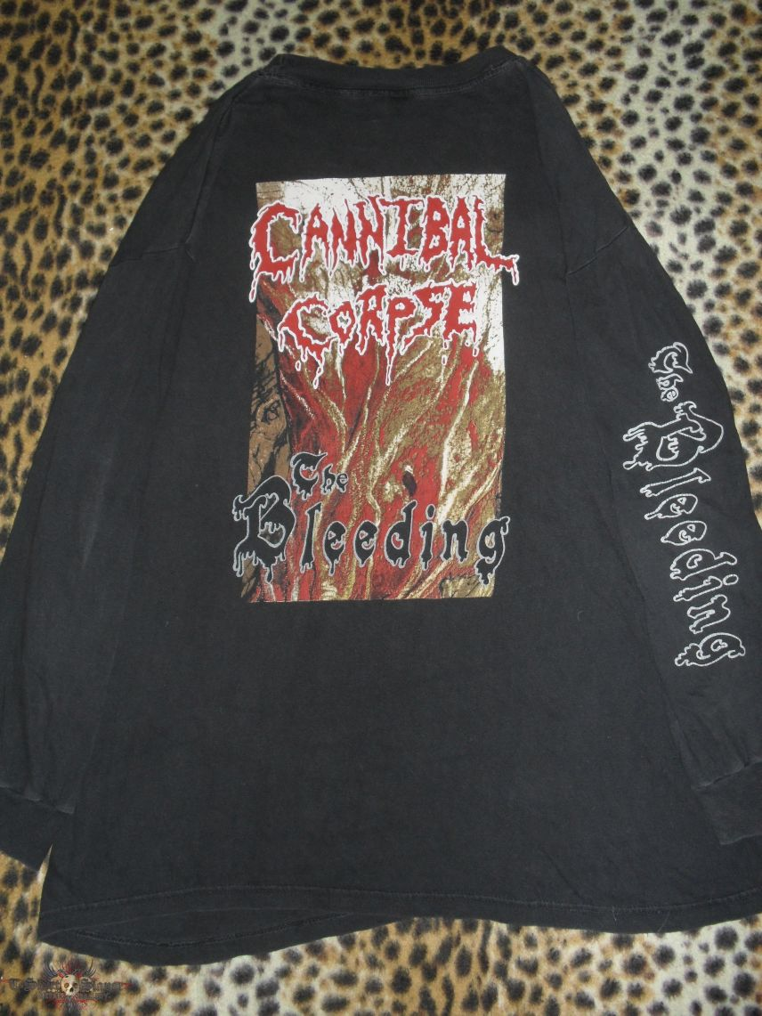 Cannibal Corpse The Bleeding longsleeve shirt from 1994