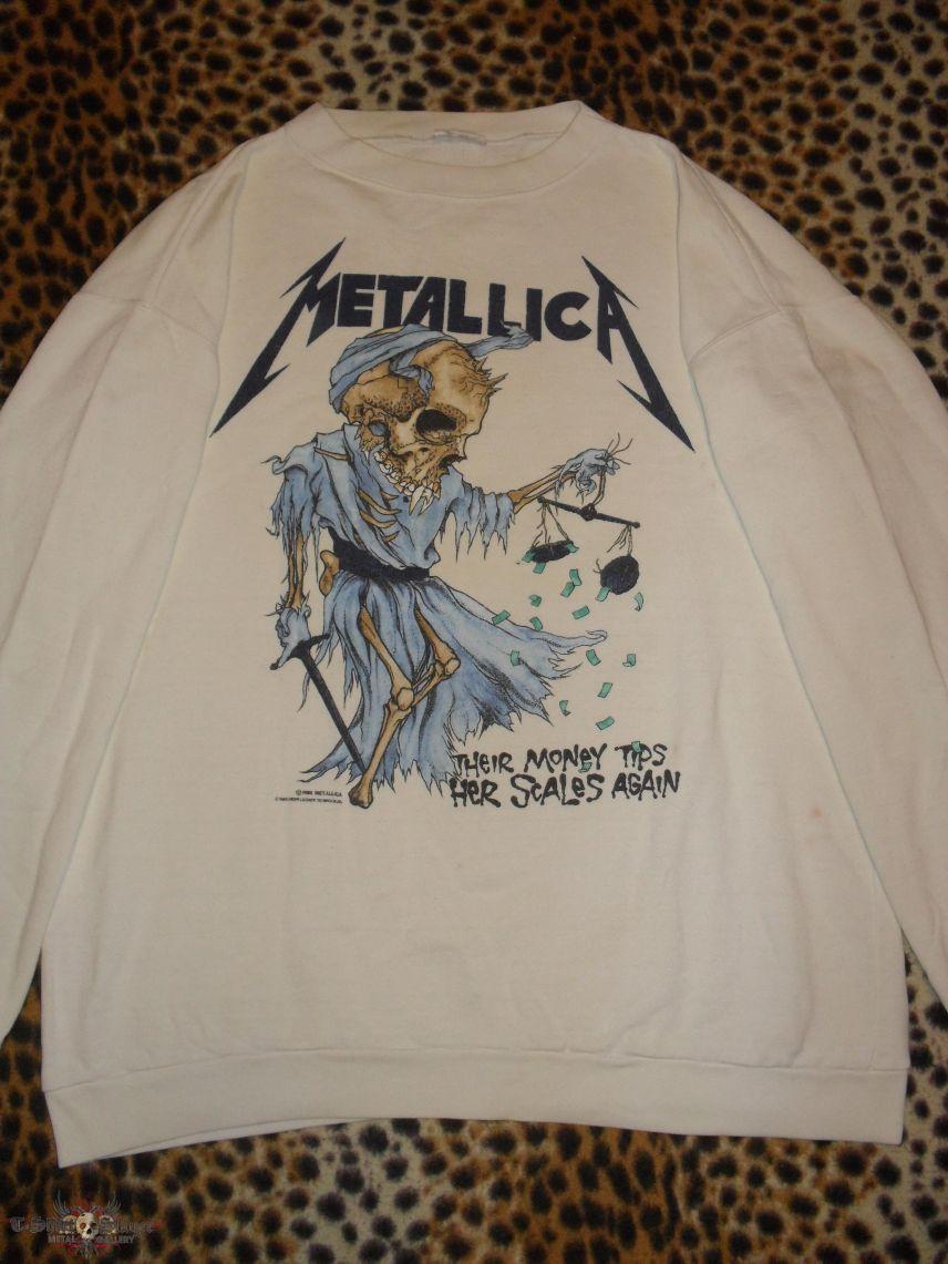 Metallica original 80's college shirt