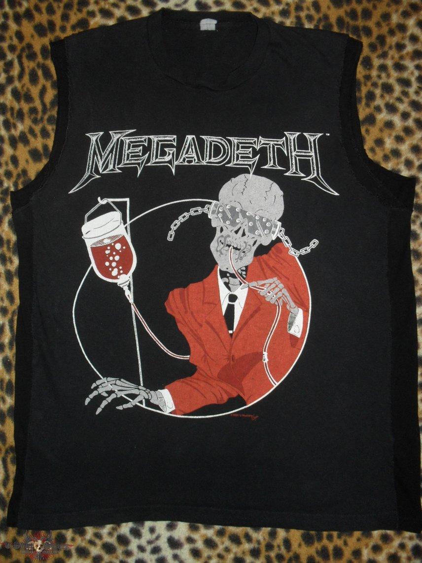 Megadeth original 80's shirt Blood Bath's My Way Of Getting Clean