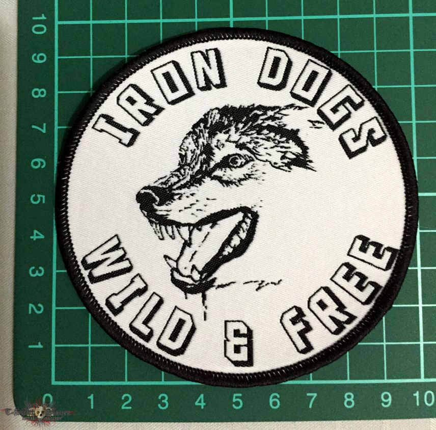 Iron Dogs Wild & Free patch