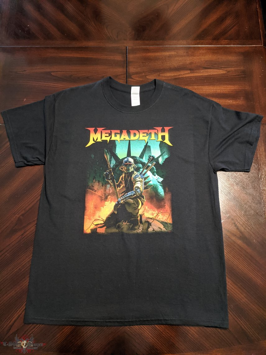 Megadeth 2016 Fallen Liberty Tour Dates