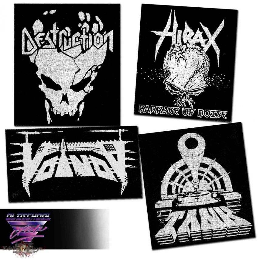 4 patches ! \m/