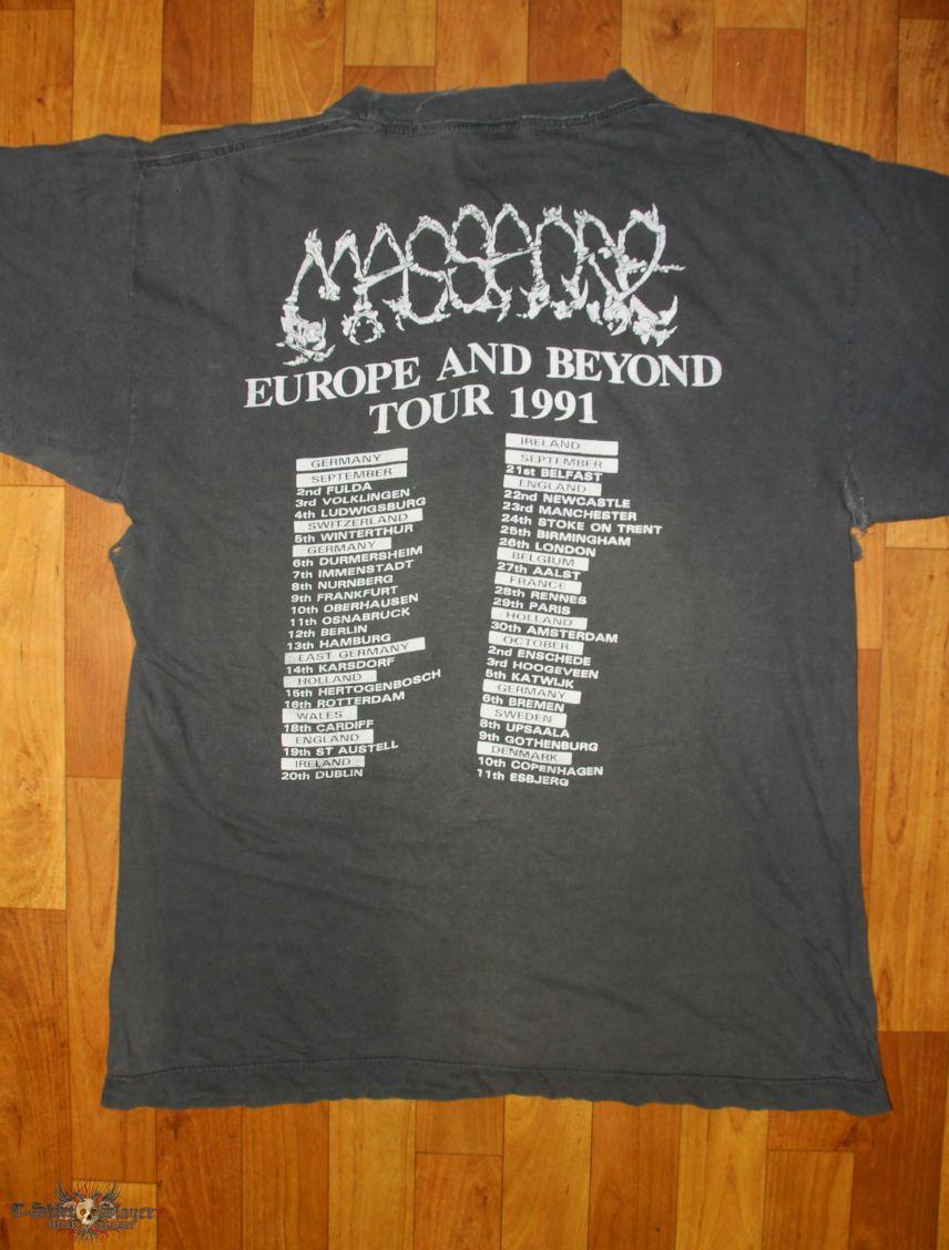 Massacre - From Beyond 1991 Tour Shirt