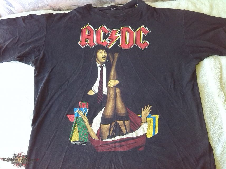 AC/DC - Mistress For Christmas - Shirt | TShirtSlayer TShirt and ...