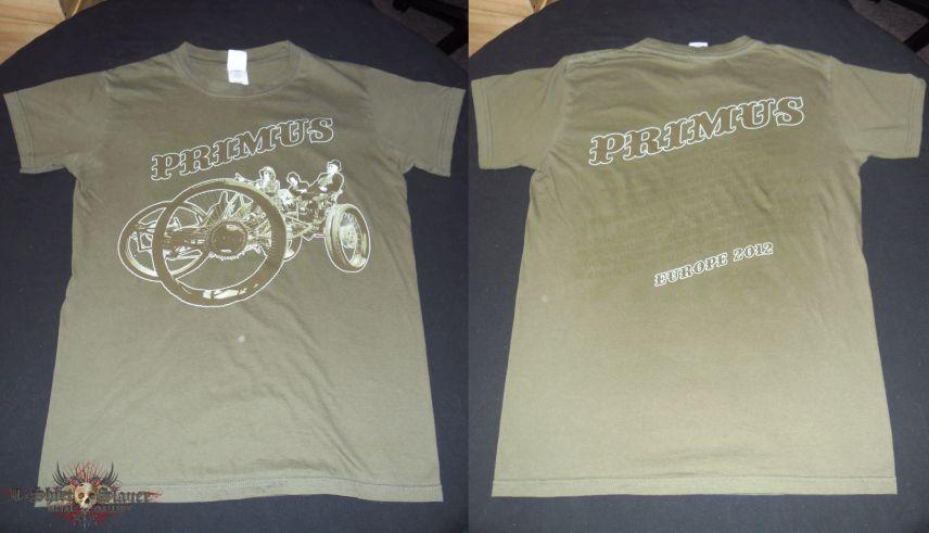 Primus - Europe tour 2012