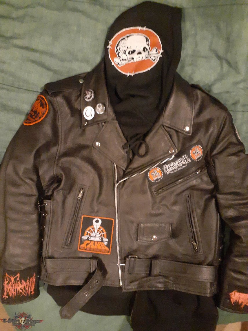 War.Cult.Supremacy leather jacket