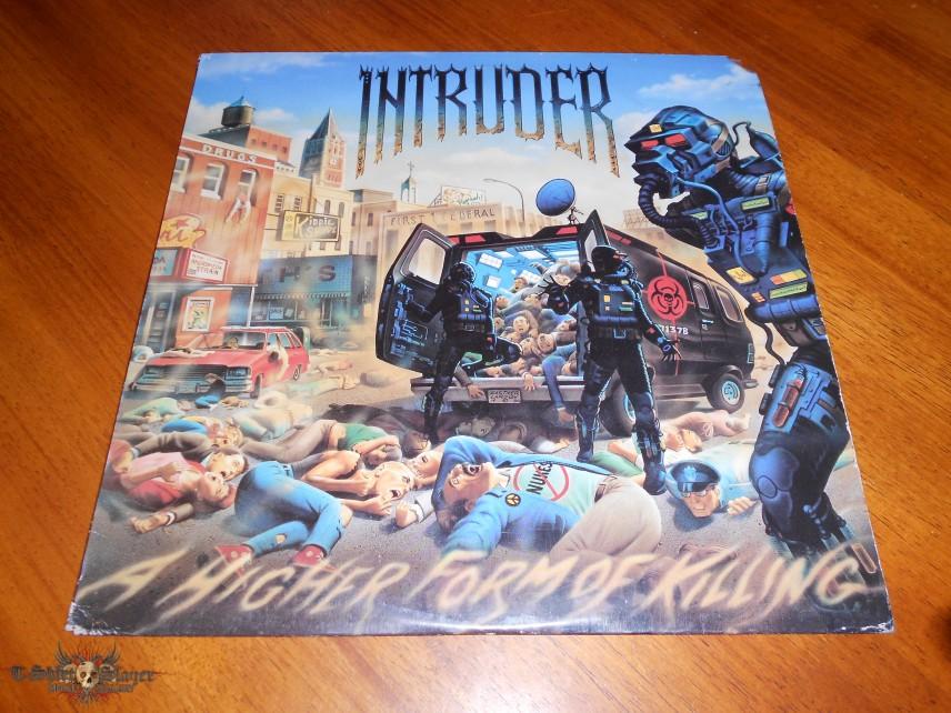 Intruder / A Higher Form Of Killing LP | TShirtSlayer TShirt and ...