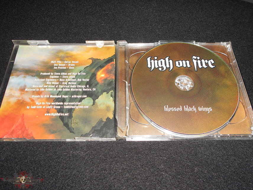 High On Fire /  Blessed Black Wings