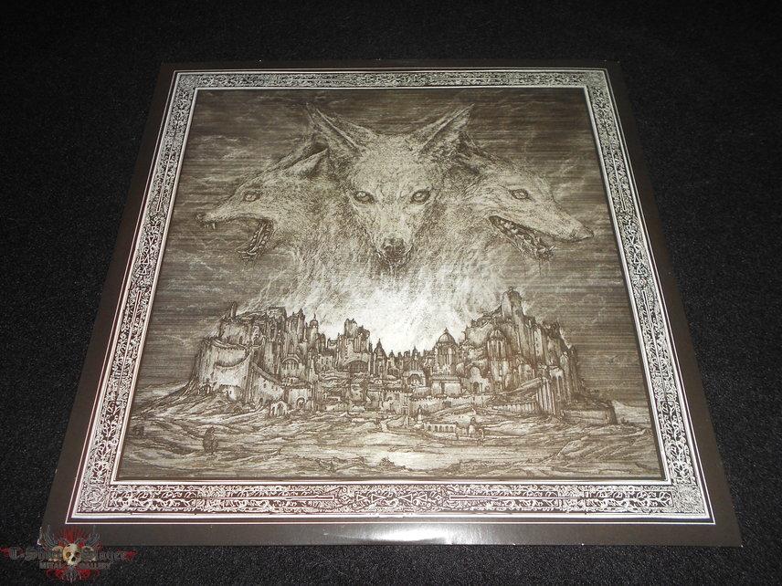 Immolation / Atonement Orange LP'S