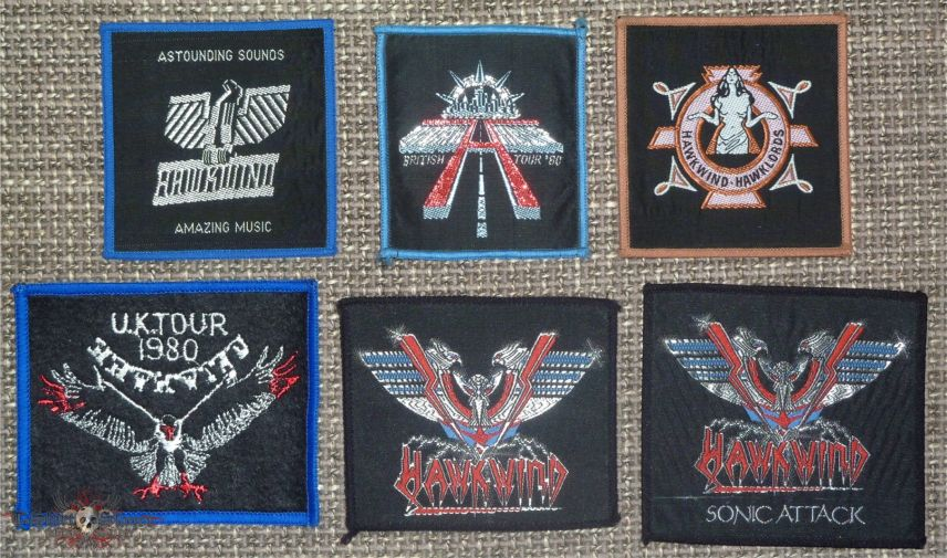 Hawkwind Original Woven Patches