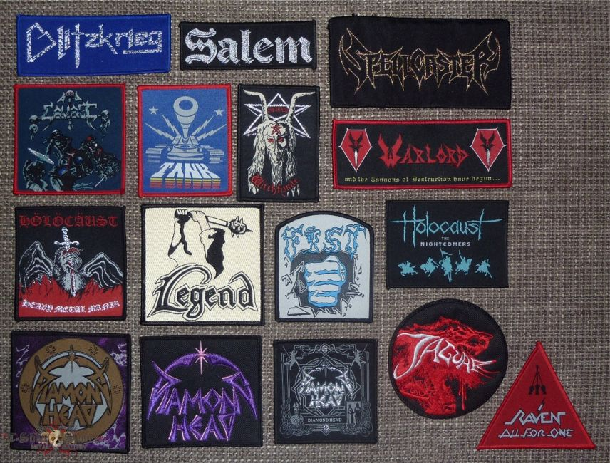 NWOBHM Original and Bootleg Patches