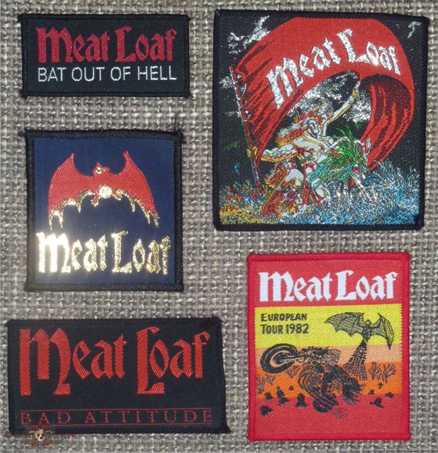 Meat Loaf Woven Original Patches