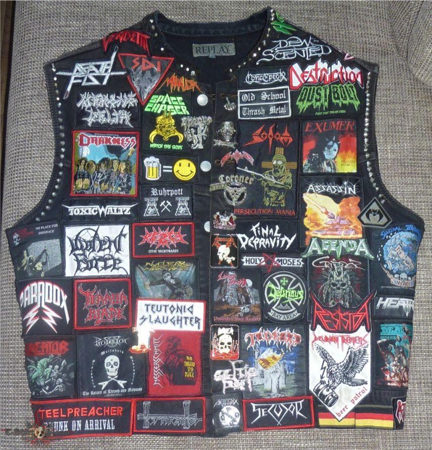 My Thash Metal Battle Vest