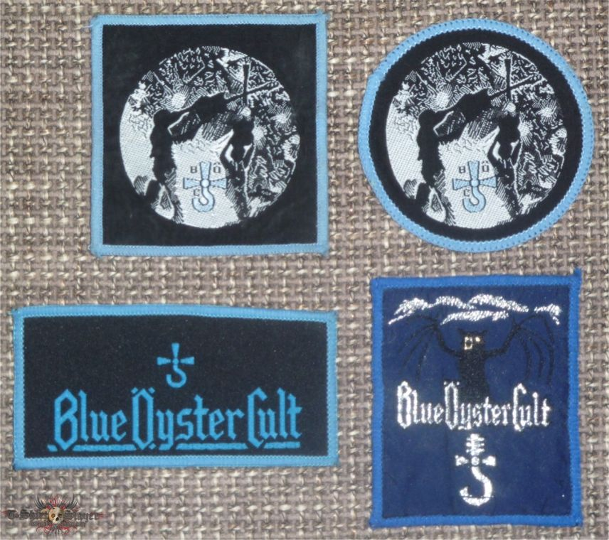 Blue Öyster Cult Woven Vintage Patches