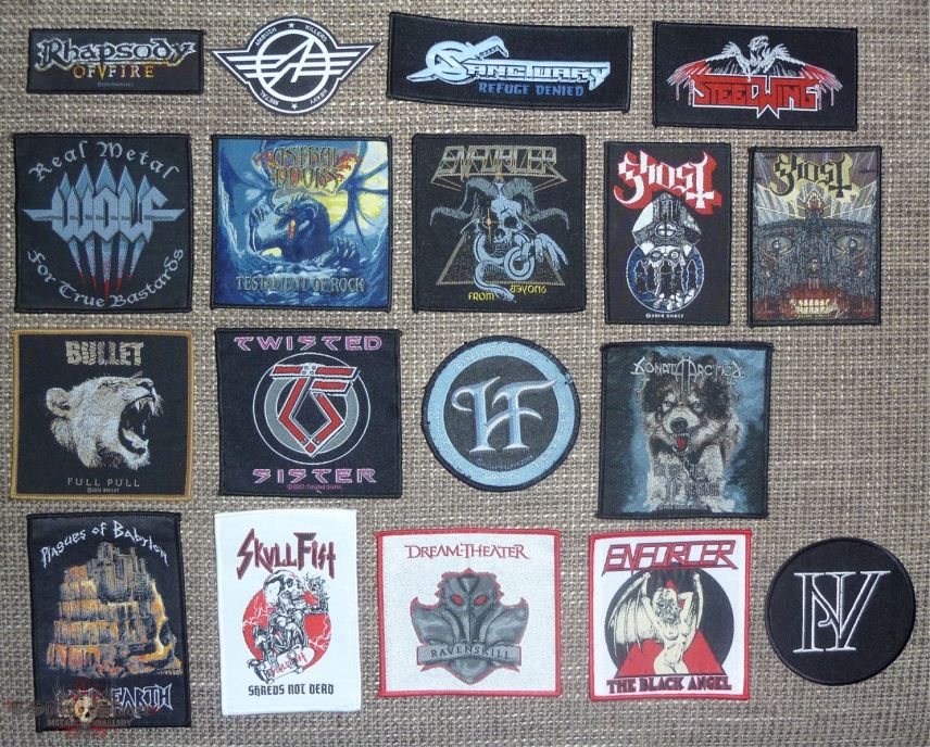 Original Heavy Metal Patches (2)