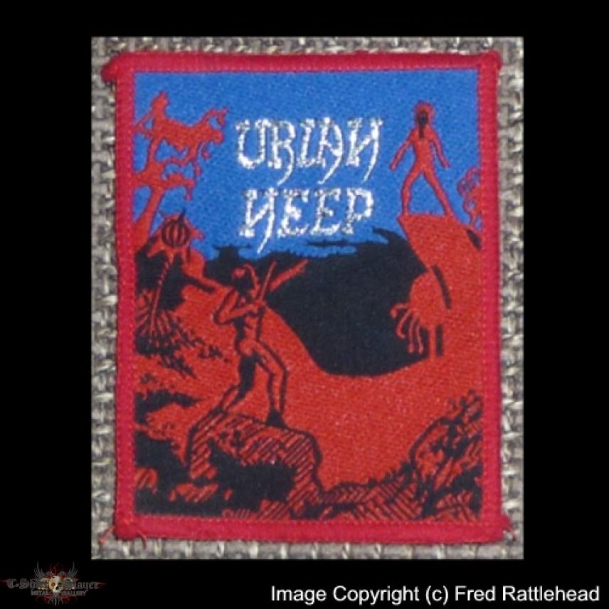 Uriah Heep The Magician's Birthday Woven Patch