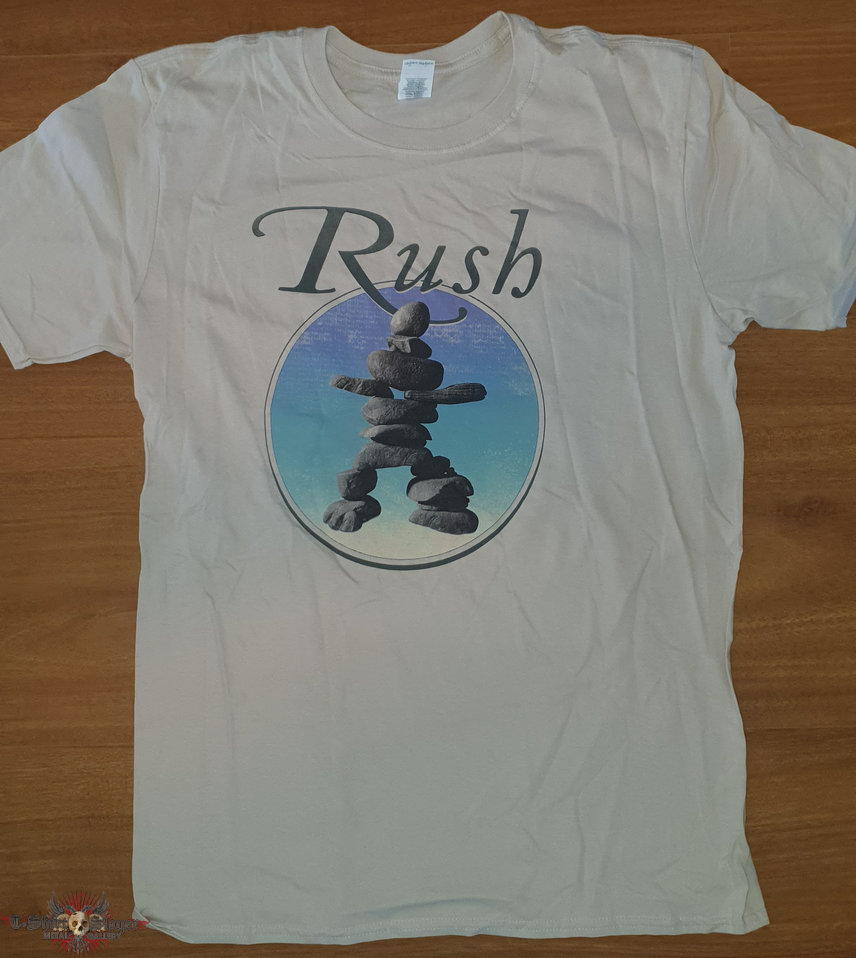 Rush - Test for echo - official shirt