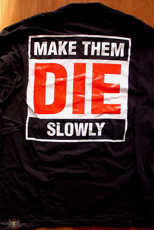 White Zombie - Make them die slowly - Longsleeve Sgirt