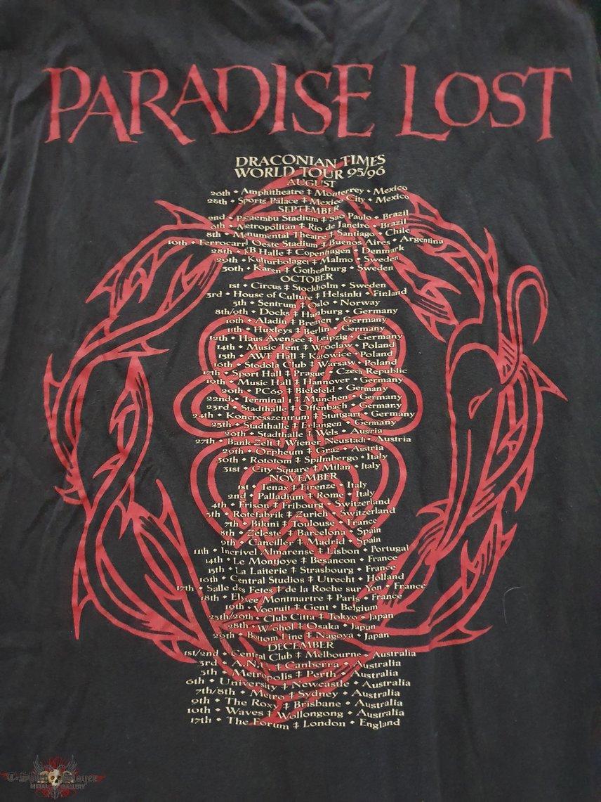 Paradise Lost - Draconian times tour - 1995