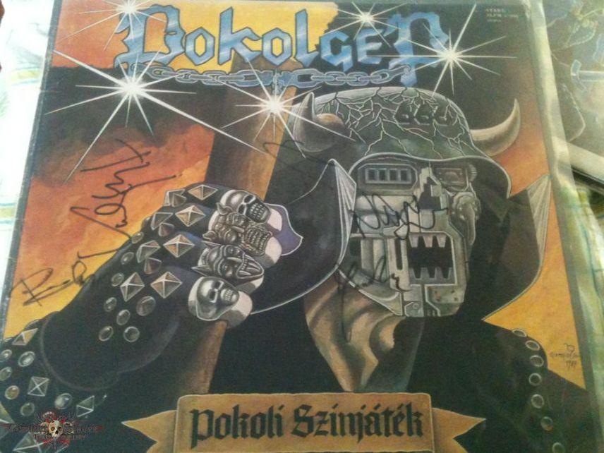 Pokolgép Signed Vinyls