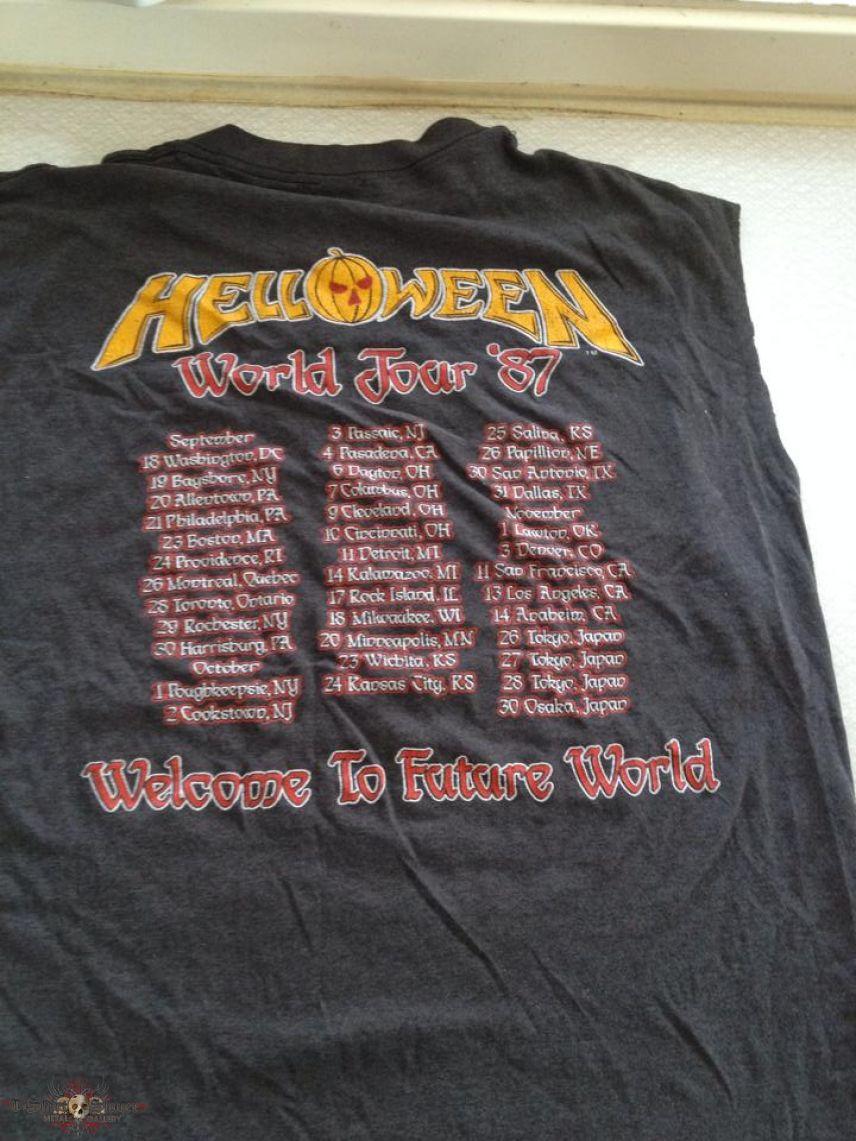 Helloween - Keeper of the Seven Keys Tour Shirt 1987