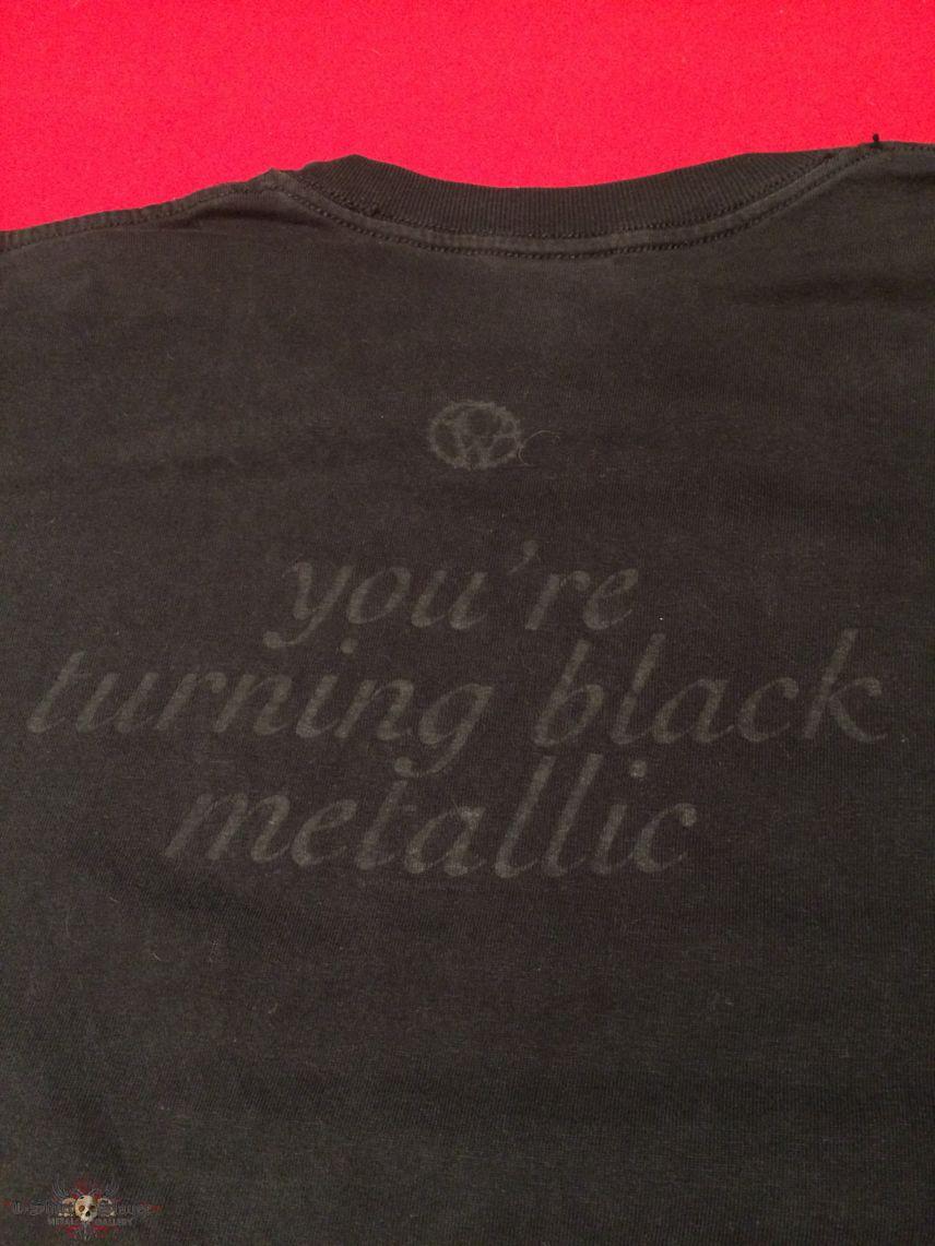 Catherine Wheel Black Metallic Shirt
