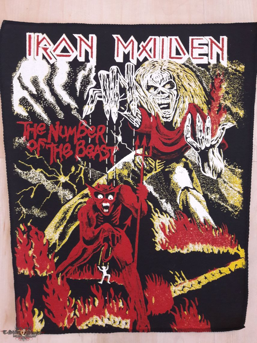Iron Maiden Backpatch