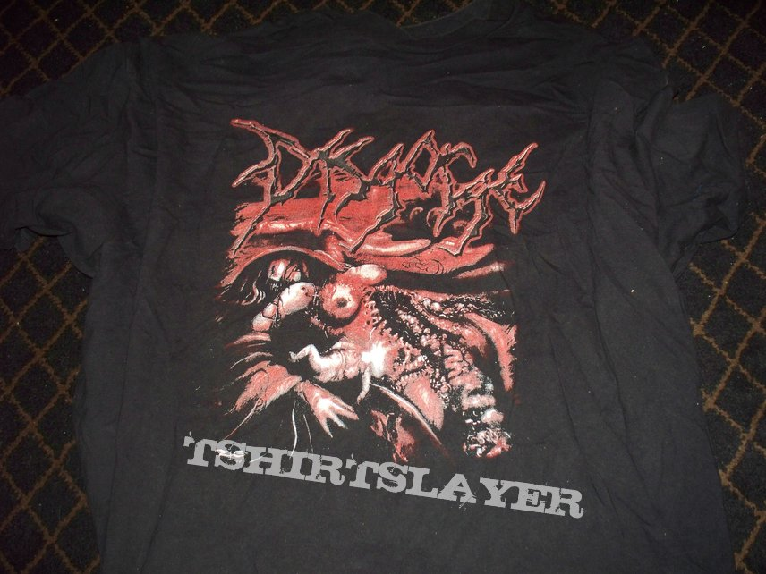 Disgorge -She Lay Gutted - Bloodletting North America Tour - T-Shirt - SOLD